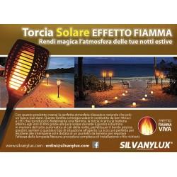 TORCIA SOLARE EFFETTO FIAMMA (Flame)