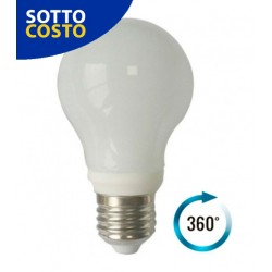 LAMPADINA LED BULBO TOTAL GLASS 7W E27 360°