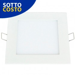 PANNELLO LED SMD SLIM 6W QUADRATO