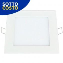 LED PANNELLO QUADRATO SMD SLIM 12W 220VAC CW